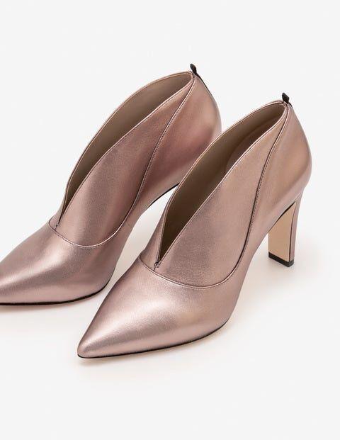 Boden Metallisch Roseberry Stiefel mit Absatz Damen Boden, 40, Grey