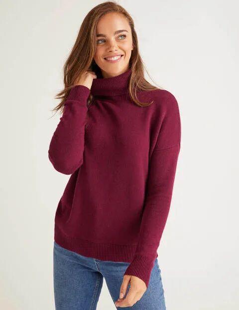 Boden Rot Cora Pullover Damen Boden, XS, Purple
