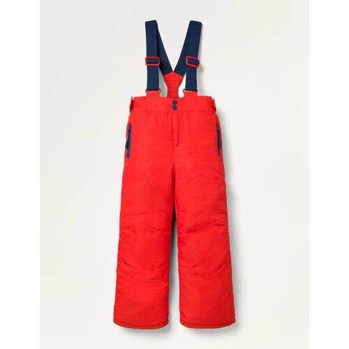 Mini Rot Wasserdichte Allwetterhose Jungen Boden, 110, Red