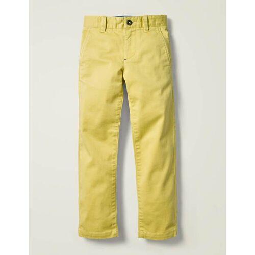 Mini Butterblumengelb Chinohose Jungen Boden, 116, Yellow