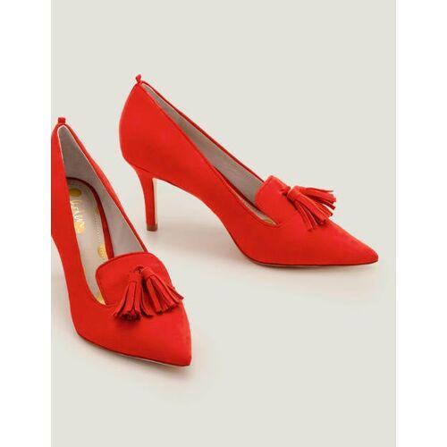 Boden Rot Leah Pumps mit mittelhohem Absatz Damen Boden, 36, Red
