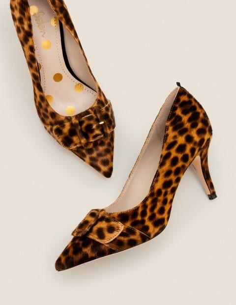 Boden Leopard Renee Pumps mit mittelhohem Absatz Damen Boden, 37, Brown