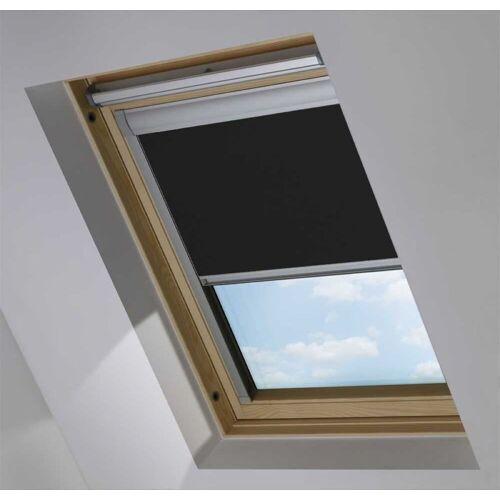 Dachfensterrollo für Dakstra S6A, Jet Black