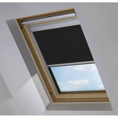 Dachfensterrollo für Rooflite C2A, Jet Black