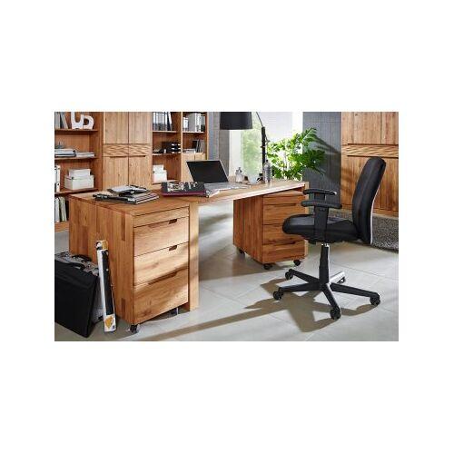 LANA Schreibtisch No.1 Amadeo, Wildeiche massiv