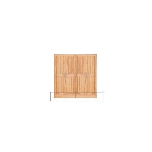 LANA Schubladenunterbau 4-türer YoungStyle/HomeStyle, Kernbuche massiv