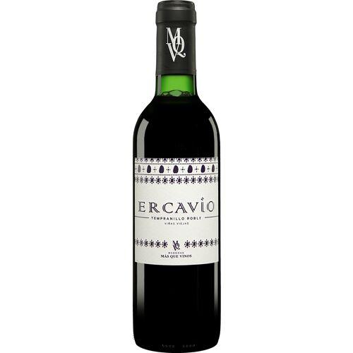 Más que Vinos Ercavio Tempranillo Roble - 0,375 L. Roble 2016 14% Vol. Rotwein Trocken aus Spanien