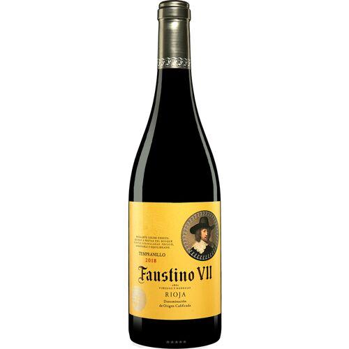 Faustino Martinez Faustino VII Tinto 2018 Faustino 7 13% Vol. Rotwein Trocken aus Spanien