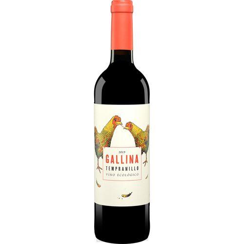 Gallina Tempranillo 2019 13.5% Vol. Rotwein Trocken aus Spanien