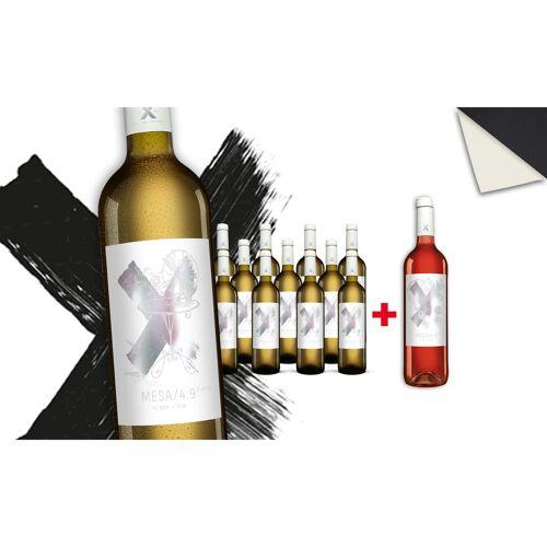 Blanco MESA/4.9 Blanco + MESA/4.9 Rosado GRATIS Trocken Weinpaket  aus Spanien