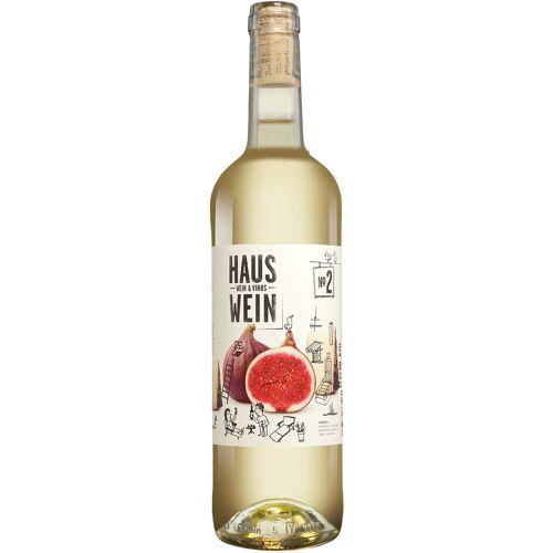 Wein & Vinos - Hauswein Hauswein Nr. 2 12.5% Vol. Weißwein Trocken aus Spanien