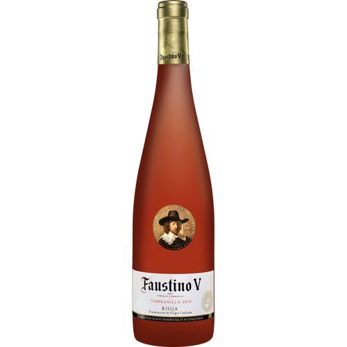 Faustino Martinez Faustino V Rosado 2019 Faustino 5 13% Vol. Roséwein Trocken aus Spanien