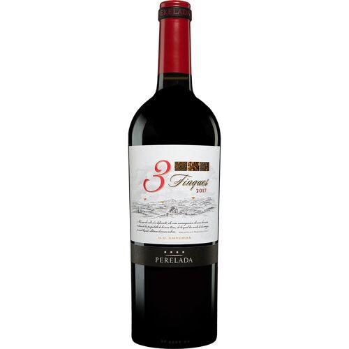 Castillo Perelada Perelada »3 Finques« Crianza 2017 14% Vol. Rotwein Trocken aus Spanien