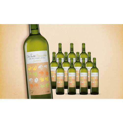 Blanco Dos Puntos Blanco Organic 2019 Trocken Weinpaket  aus Spanien