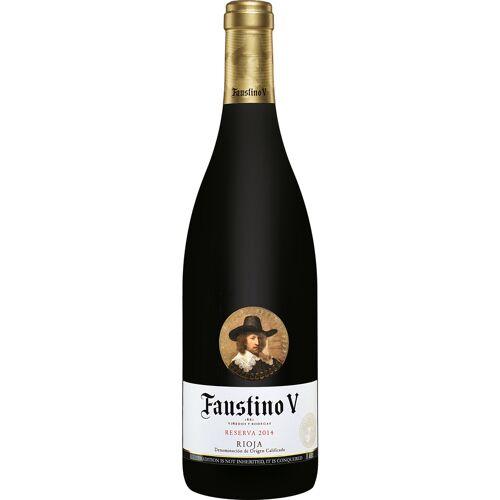 Faustino Martinez Faustino V Reserva 2014 Faustino 5 13.5% Vol. Rotwein Trocken aus Spanien