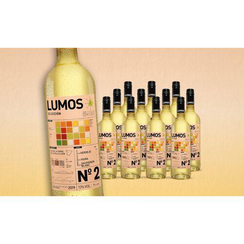 Blanco LUMOS No.2 Blanco 2019 Trocken Weinpaket  aus Spanien