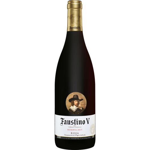 Faustino Martinez Faustino V Reserva 2015 Faustino 5 13.5% Vol. Rotwein Trocken aus Spanien