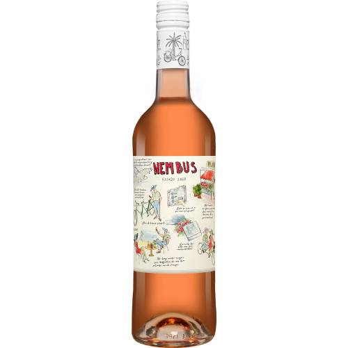 Nembus Rosado 2020 12.5% Vol. Roséwein Trocken aus Spanien