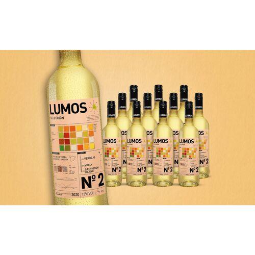 Das Lumos-Projekt Lumos No.2 Blanco 2020 Trocken Weinpaket  aus Spanien