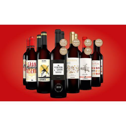 Topseller-Paket Trocken Weinpaket  aus Spanien