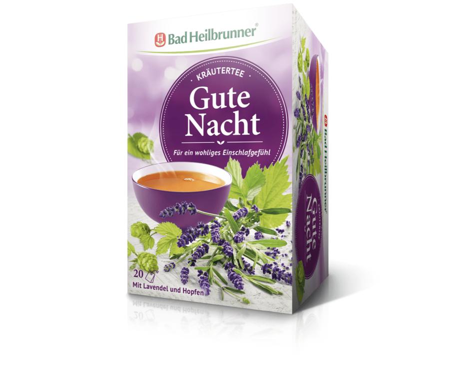 Bad Heilbrunner Kräutertee Gute Nacht, 20 Filterbeutel