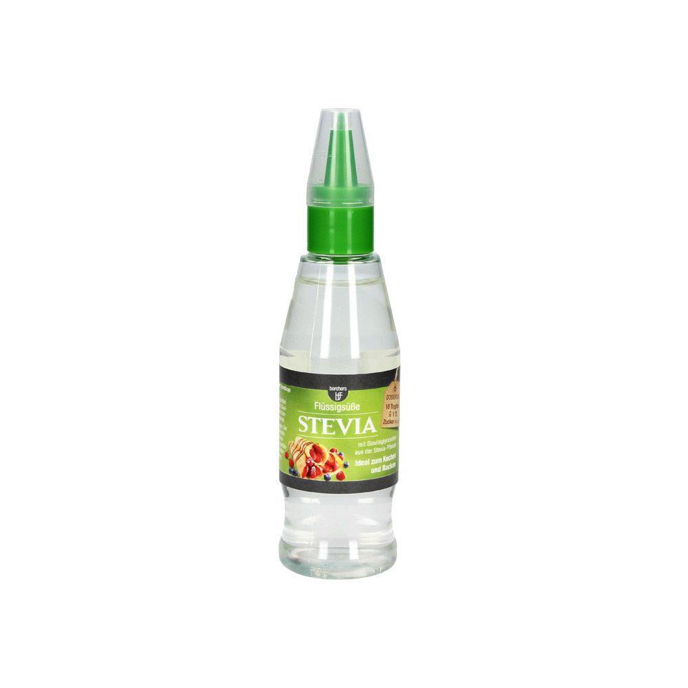 borchers fine food Stevia Flüssigsüße, 125 ml