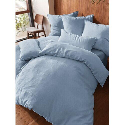 Proflax Bettbezug ca. 135x200cm Proflax blau