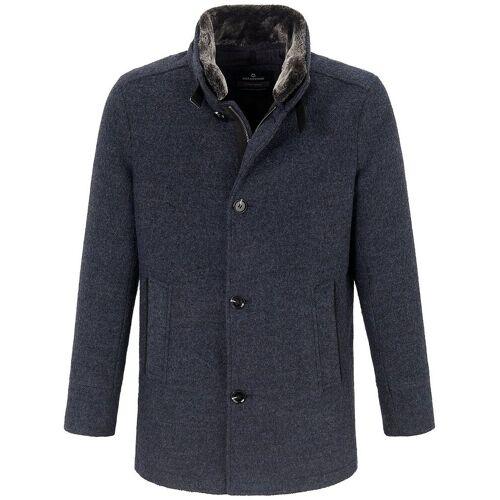 Milestone Woll-Jacke Milestone blau