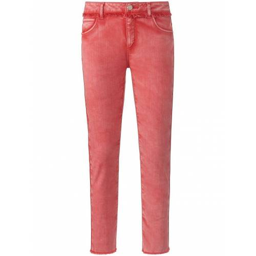 DAY.LIKE Knöchellange Slim Fit-Jeans DAY.LIKE rot