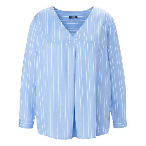 FRAPP Bluse zum Schlupfen FRAPP blau