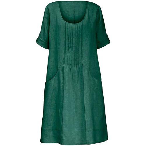 Anna Aura Kleid aus 100% Leinen 3/4-Arm Anna Aura grün
