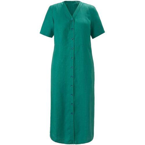 Anna Aura Kleid aus 100% Leinen Anna Aura grün