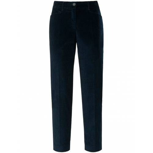 Brax Slim Fit-7/8-Breitcord-Hose Modell Mara S Brax Feel Good blau