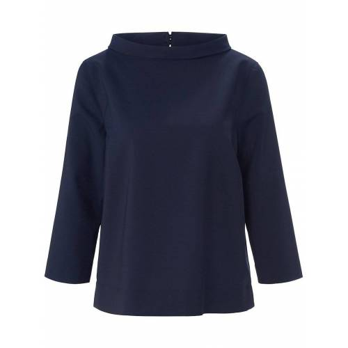 Windsor Bluse 3/4-Arm Windsor blau