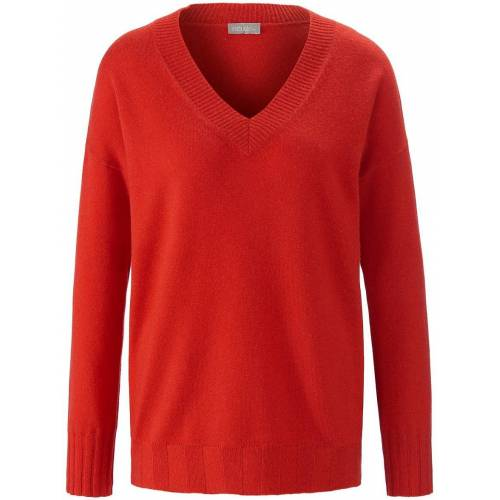 include V-Pullover include rot