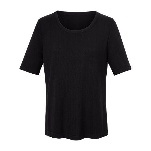 Rössler Selection Rundhals-Pullover 1/2-Arm Rössler Selection schwarz