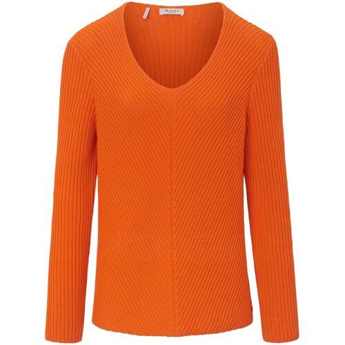 MAERZ Muenchen V-Pullover MAERZ Muenchen orange