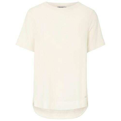 MAERZ Muenchen Rundhals-Shirt MAERZ Muenchen weiss
