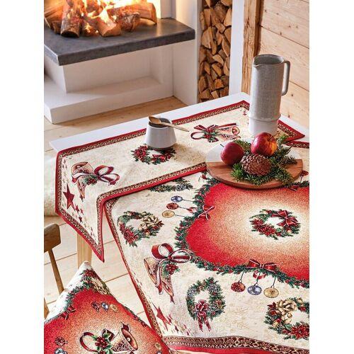 Hossner Tischläufer ca. 45x140 cm Hossner rot
