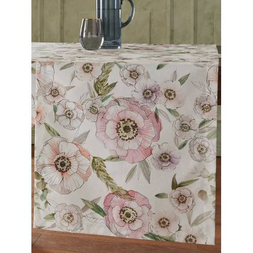 Proflax Tischläufer ca. 50x140 cm Proflax rosé
