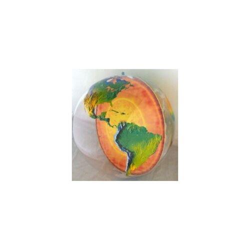 - Aufblasbarer Globus mit Erdkern 92cm