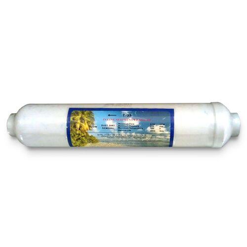 Aquafilter Sedimentpatrone Inline für Umkehrosmose Wasserfilter Vorfilter