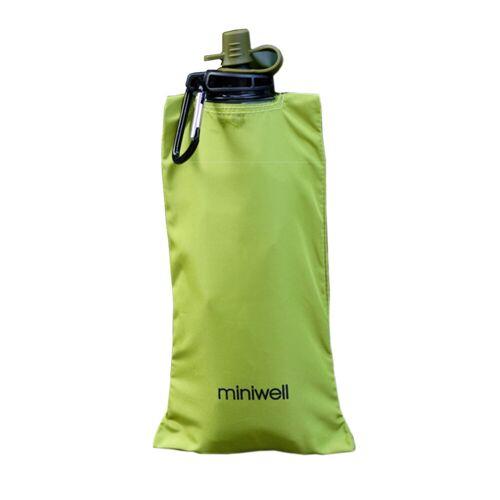 Miniwell Waterbag, Faltbare Wasserflasche