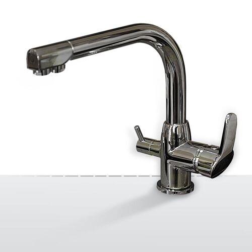 Wasserstelle GmbH Design-Drei-Wege-Wasserhahn Falvero, 3-Wege-Wasserhahn