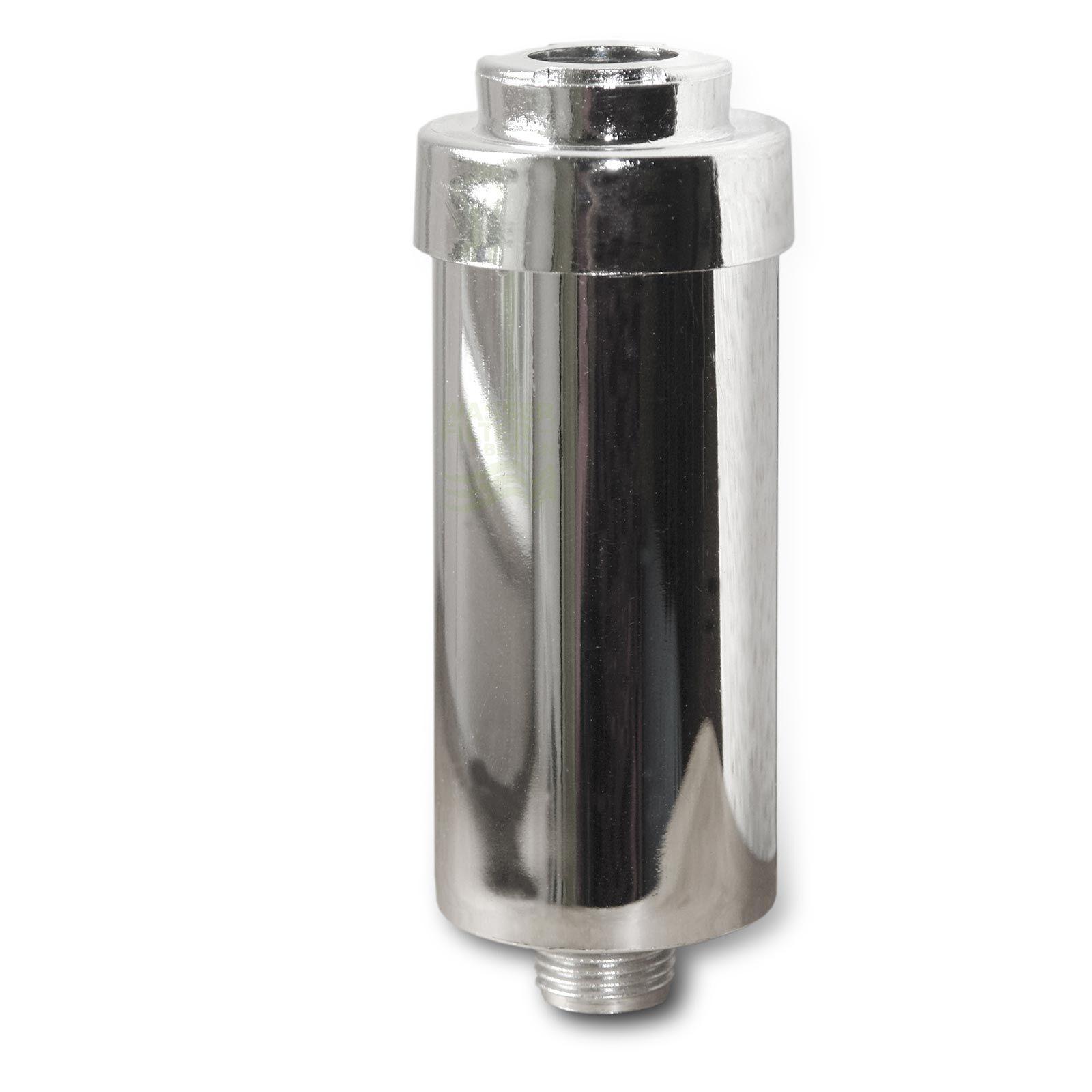 FitAqua Duschfilter FitAqua chrom Wasserfilter zum Wohle Ihrer Haut, BPA-frei