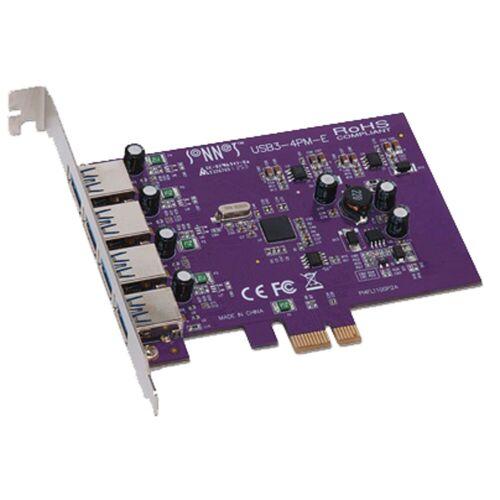 Sonnet - Allegro USB 3.0 PCIe Card 4 ports Macintosh/Windows