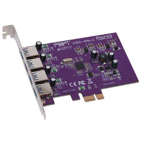 Sonnet - Allegro USB 3.0 PCIe Card 4 ports Macintosh/Windows