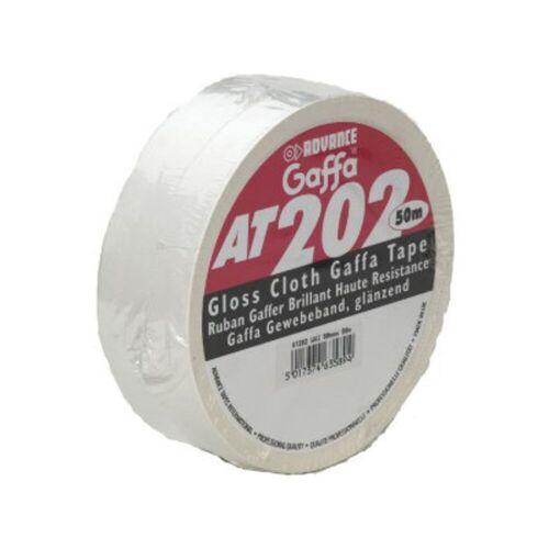Advance - AT202 Gaffa Tape, weiß