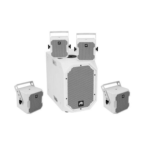 Omnitronic - BOB-10A ws + 4x BOB-4 ws