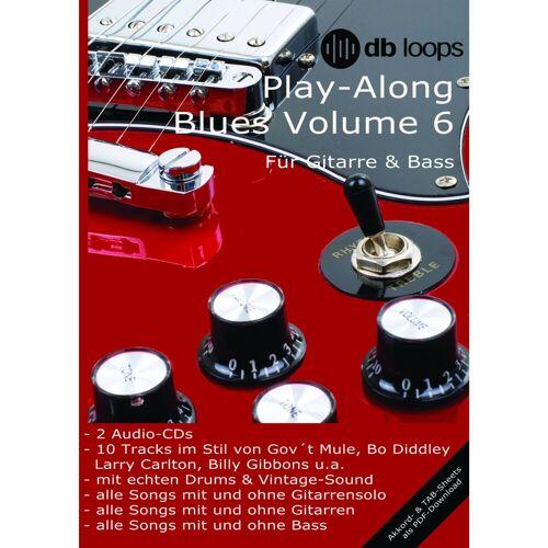 db loops - Blues - Volume 6 Gitarre Playalong